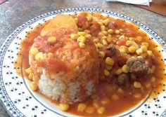 Tomatican con arroz Chilean Recipes, Chilean Food, Comida Diy, Latin Food, American Food, Spanish Food, Smoothie Recipes, Cravings, Food And Drink