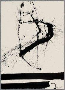 Peinture contemporaine de Robert Motherwell