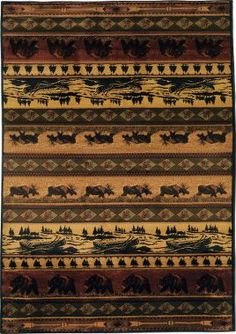"""Cabela's: Big-Game Area Rugs – 7'10"""" x 10'6"""""""