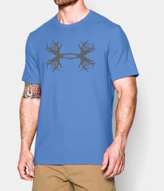 204434098484e Under Armour® Men's White with Grey UA Ghost Antler Logo T-Shirt | Awesome  clothes | Pinterest | Logos, Under armour and Ghosts
