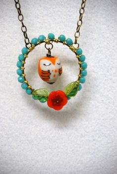Little Hoot Necklace $55