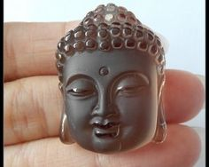 Buddha Head, Carving, Pendants, Floral, Wood Carvings, Hang Tags, Flowers, Sculptures, Printmaking