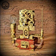 The Ladys Clockwork Artist: Dan Aetherman www.thechocolatist.com