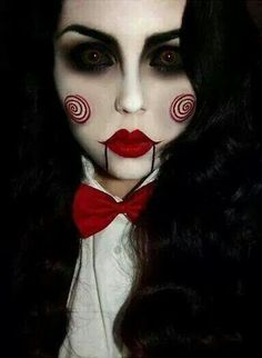 Image via We Heart It https://weheartit.com/entry/143179800 #facepaint #Halloween #joker #longhair #makeup #makeup #makeupideas #o #scary #tutorial