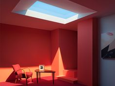 "A Nanotech Skylight That Looks Just Like the Sun Shining Overhead | Di Trapani believe CoeLux could allow for the creation of ""groundscrapers,"" or buildings that stretch hundreds of feet into the ground.   Michael Loos  
