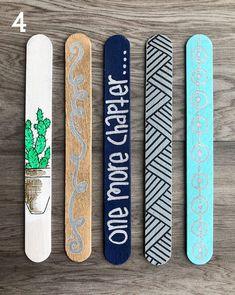 popcicle sticks Bookmarks book marks bookmark book mark bookmark art bookmarks for kids bookmarks for women books book accessories popsicle sticks Popsicle Stick Art, Popsicle Stick Crafts, Craft Stick Crafts, Creative Bookmarks, Bookmarks Kids, Handmade Bookmarks, Corner Bookmarks, Fun Diy Crafts, Crafts For Kids