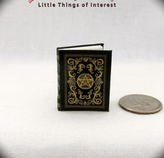 BEAUCHAMP GRIMOIRE SPELL BOOK Miniature Dollhouse 1:12 Scale Witches East End  | eBay