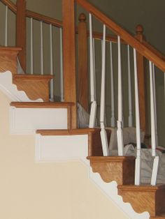 installing iron balusters   Flickr - Photo Sharing!