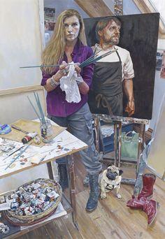 Husband and wife artists make the BP portrait award long list