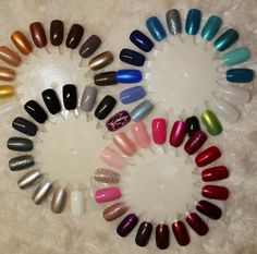 My polish collection on swatches. I take this with me shopping so I don't get dupes!