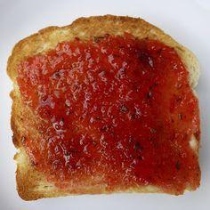 Carrot Cake Jam, Canning Soup Recipes, Rhubarb Jam Recipes, Christmas Jam, Tomato Jam, Jelly Recipes, Veggie Recipes, Healthy Food Options, Salsa Recipe