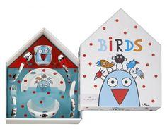 Auerhahn Birds Sztućce Porcelana dla Dzieci