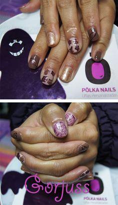 #gorjuss #doll #nailart #nail #uñas #otoño