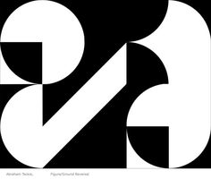 Image result for figure ground reversal typo