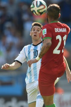 It took him more than 90 minutes, but Lionel Messi finally found a way. With resolute defending from every man on the field, Iran had held Argenti. World Football, Football Fans, Iran World Cup, Messi Goals, Water Polo, Football Match, Soccer, Volleyball, Lionel Messi