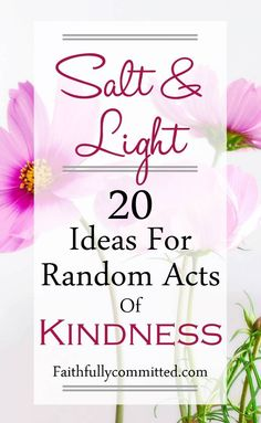 20 Random Acts of Kindness You Can Do Today