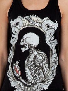 cool skull shirt