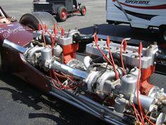 Twin Engine Turbo 4 Goodness by on DeviantArt Mechanical Power, Ford V8, Dream Land, Flat Head, Car Engine, Motor Car, Vintage Cars, Cool Cars, Motors