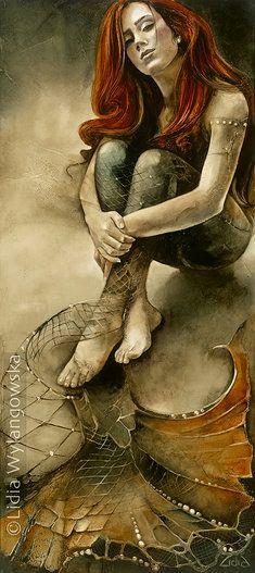 **Mermaid - Lidia Wylangowska. I like the transition look here.