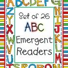 This HUGE (500+ pages!) zipped file contains 26 emergent reader mini-books for each letter of the alphabet. Each page provides the opportunity to r...