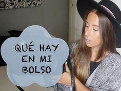 What´s in my bag TAG / Qué hay en mi bolso. Youtube video. Trendencies TV