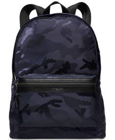 3021ad2ca004 MICHAEL Michael Kors Men s Kent Camo Backpack   Reviews - All Accessories -  Men - Macy s