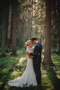 Glamorous Wedding at Fairmont Banff Springs Hotel | Photo by Gabe McClintock via http://junebugweddings.com/wedding-blog/glamorous-wedding-fairmont-banff-springs-hotel/