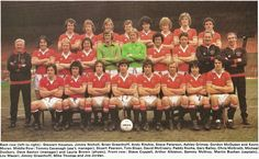 Manchester United Team, Ashley Grimes, Northern Irish, European Cup, School Football, Team Photos, Man United, How To Memorize Things, The Unit