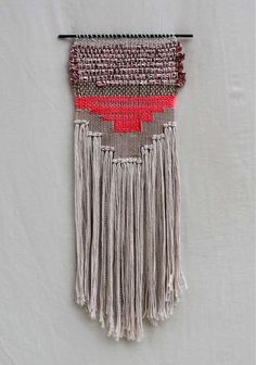 Tribal Textural Woven Art - This Woven Textile Art by All Roads is Inspired by Western Landscapes (GALLERY)