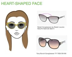 If you have a heart-shaped face, cat's eye and round frames are for you! Also, avoid overly embellished glasses.