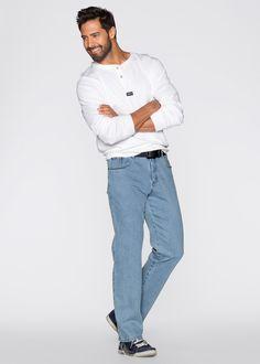 Stretch-Jeans Classic Fit, N-Größe schwarz - John Baner JEANSWEAR jetzt im…