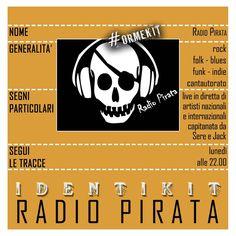 RADIO PIRATA - Go Pirates go! Puntate frizzanti piene di live in studio!