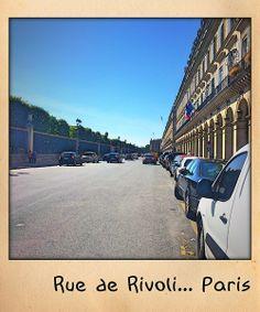 Rue de Rivoli... Paris