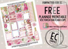 Free Printable. Victoria Thatcher Happy Planner Kit, To Do Planner, Free Planner, Blog Planner, Planner Ideas, 2015 Planner, Passion Planner, Printable Planner Stickers, Free Printables