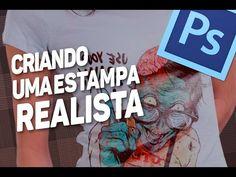 PHOTOSHOP CC (CRIANDO UMA ESTAMPA REALISTA) - YouTube