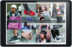 Trends : This comprehensive accessories report focuses on the emerging street trends for women, men and youth markets. (#825003)