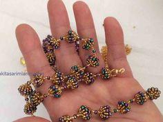 Jewelry ❤ DIY: beaded wedding vintage necklace with pearls Beaded Bracelets Tutorial, Diy Bracelets Easy, Zipper Bracelet, Bijoux Design, Schmuck Design, Beaded Jewelry Designs, Handmade Jewelry, Bracelet Making, Jewelry Making