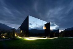 Resting just outside of Bolzano in the foothills of the Dolomites Mountains in Northern Italy is one of the notable creations from architect Peter Pichler. Two homes, designed as vacation residences,...