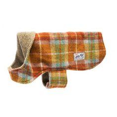 Olive - Weldon Plaid Dog Coat l Billy Wolf