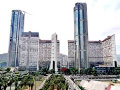Las Torres de Parque Central (Caracas) este y oeste construidas durante la década de los años de 1970 en la ciudad de Caracas son los segundos edificios más altos de Suramérica con más de 221 m de altura y fueron a su vez las torres más altas de Latinoamérica hasta el año 2003.