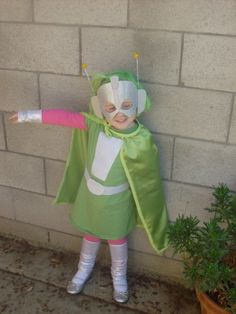 Super Martian Robot Girl costume. I am going to make one for myself.