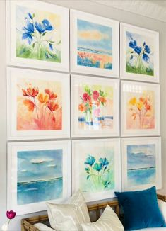 How Much Do You Love Coastal Art? | Laura Trevey Watercolors