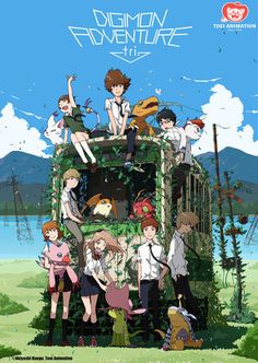 Shout! Factory Licenses 1st 3 Digimon Adventure tri. Anime Films