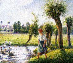 Fotos de Pinturas de Pissarro - Buscar con Google