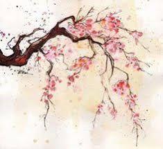 Risultati immagini per fiori di ciliegio disegni