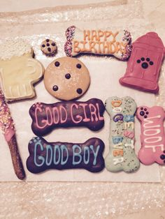Good Girl, Good Boy, Woof, Chocolate chip cookie and lots more❤️❤️