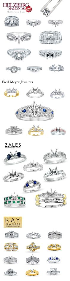 ► ► Semi-Mounts - The BEST way to Shop for an Engagement Ring!