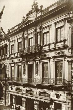 Casa Garraux, Rua Imperatriz 36/38/39, recebeu um 3o. pavimento em 1896