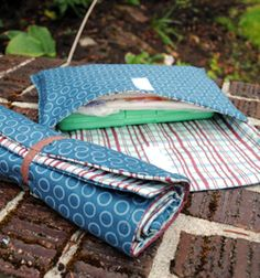 Changing Pad & Diaper & Wipes pouch