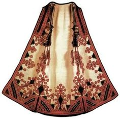 Serbian Traditional Outfit Handmade Long West/Cloak
